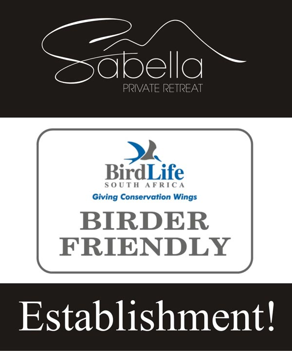 Birder Friendly Establishment